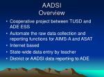aadsi overview