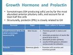 growth hormone and prolactin
