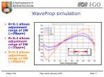 waveprop simulation