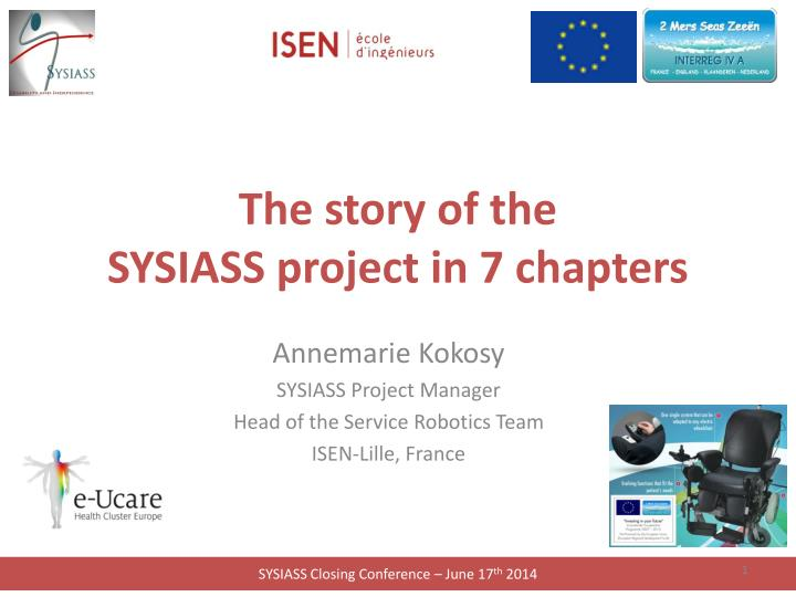 the story of the sysiass project in 7 chapters n.