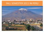 fall semester in per