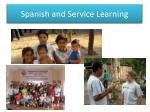 spanish and service learning