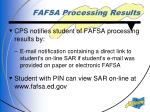 fafsa processing results1