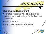 state updates2