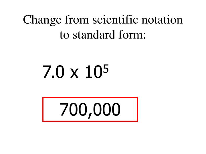 Ppt 54 Scientific Notation Powerpoint Presentation Id5615432