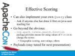 effective scoring1