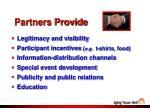 partners provide