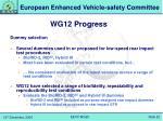 wg12 progress1