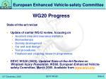 wg20 progress1