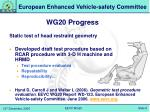wg20 progress3