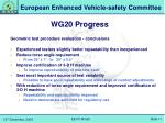 wg20 progress6