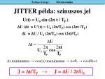 jitter p lda szinuszos jel
