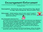 encouragement enforcement