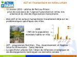 acf et l humanitaire en milieu urbain