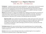proposed merged registry objective 404 405 407 eh objective