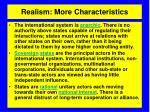 realism more characteristics