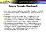 general remarks continued1