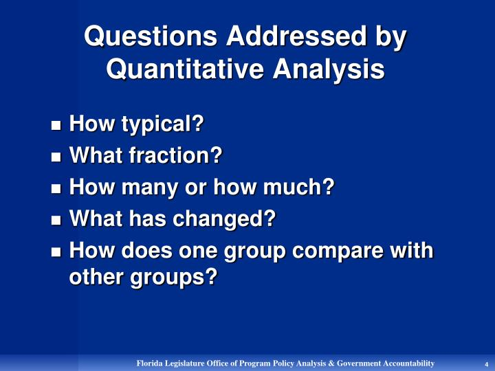 quantitative methods for management Quantitative methods-research techniques used to analyze quantitative data-enable professionals to organize and understand numbers and, in turn, to make good decisions quantitative methods is an excellent book for courses on the topic at the graduate level.