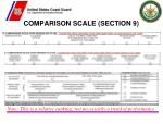 comparison scale section 9