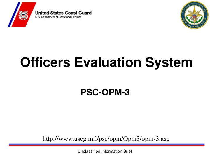 officers evaluation system n.