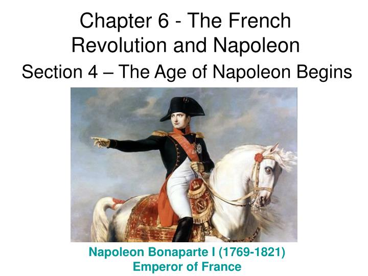 the cure for the french revolution in napoleon bonaparte Napoleon bonaparte (1769-1821): french general and emperor napoleon i ranks as one of the world's great conquerors in addition to conquest, his legal and administrative reforms changed the course of history.