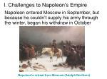 i challenges to napoleon s empire5