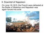 ii downfall of napoleon3