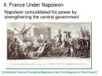 ii france under napoleon