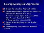neurophysiological approaches