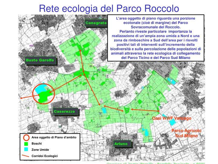 Rete ecologia del Parco Roccolo