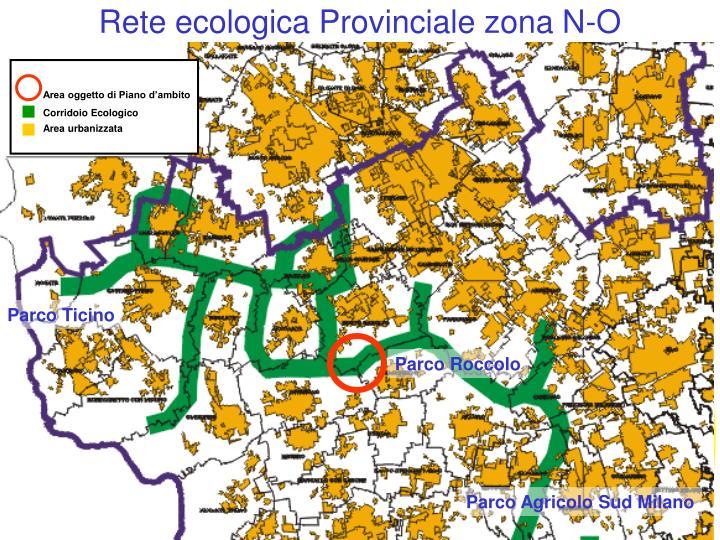 Rete ecologica Provinciale zona N-O