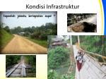 kondisi infrastruktur