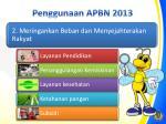 penggunaan apbn 201 31