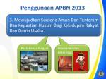 penggunaan apbn 201 32