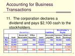 accounting for business transactions11
