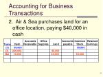 accounting for business transactions2