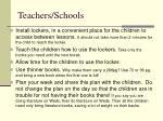 teachers schools