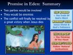 promise in eden summary