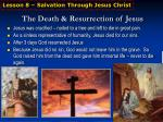 the death resurrection of jesus