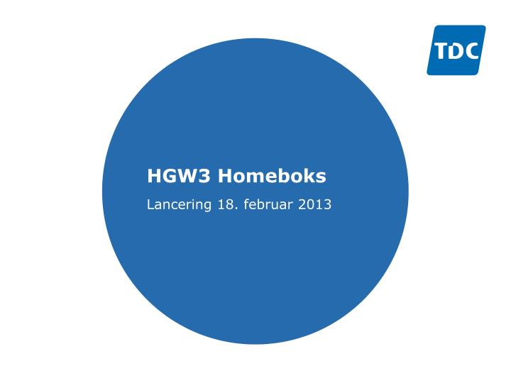 hgw3 homeboks n.