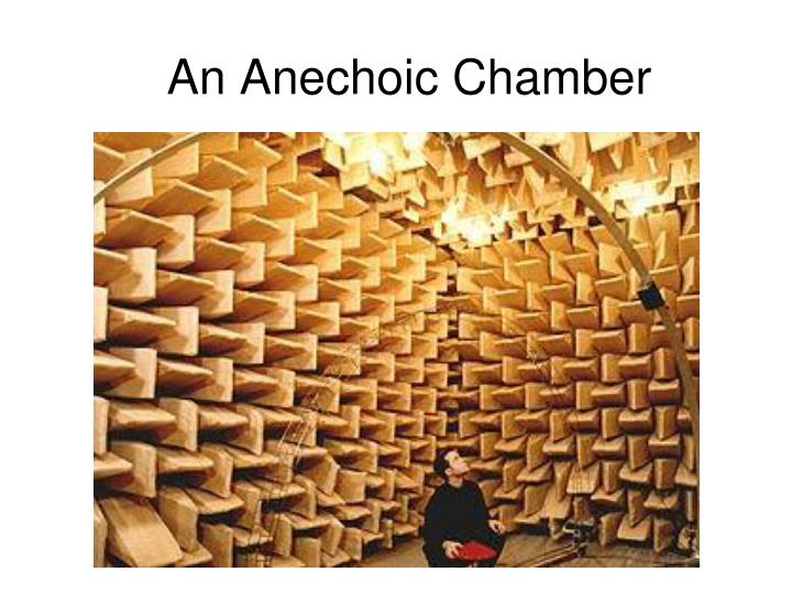 An Anechoic Chamber