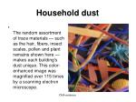 household dust