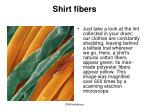 shirt fibers