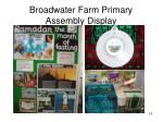 broadwater farm primary assembly display