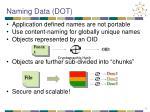naming data dot