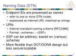 naming data dtn