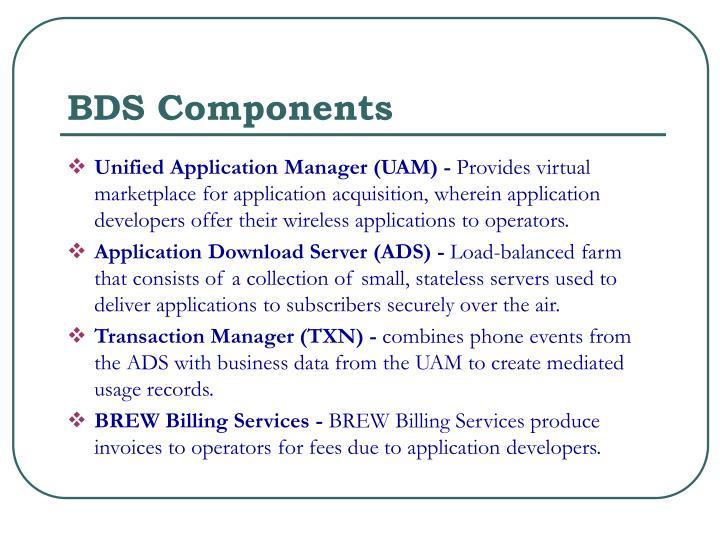 BDS Components