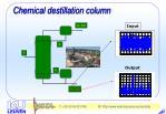 chemical destillation column