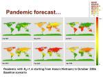 pandemic forecast