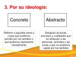 3 por su ideolog a